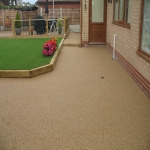 Resin Bound Path Surfacing in Aberavon 1