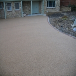 Resin Bound Path Surfacing in Belleek 1
