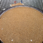 Porous Rubber Mulch Pathways in Alway 12