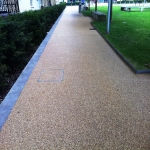 Porous Rubber Mulch Pathways in Gunby 7