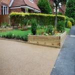 Porous Rubber Mulch Pathways in Gunby 4