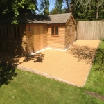 Porous Rubber Mulch Pathways in Allhallows-on-Sea 10