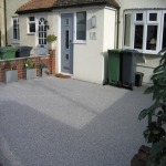 Porous Rubber Mulch Pathways in Fewston Bents 9