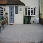 Resin Bound Driveway Surfacing in Spon Green 6