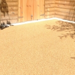 Porous Rubber Mulch Pathways in Bicknor 12