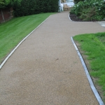 Resin Bound Path Surfacing in Bedingham Green 12