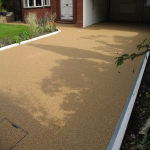 Resin Bound Driveway Surfacing in Spon Green 4