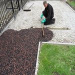 Porous Rubber Mulch Pathways in Alsagers Bank 12
