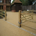 Resin Bound Path Surfacing in Ansty 1