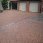 Porous Rubber Mulch Pathways in Gunby 1