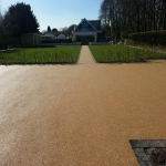 Porous Rubber Mulch Pathways in Aston Ingham 1