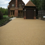 Resin Bound Path Surfacing in Bedingham Green 1