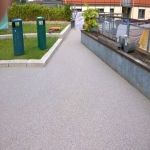 Porous Rubber Mulch Pathways in Alconbury Weston 5