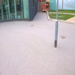 Resin Bound Driveway Surfacing in Spon Green 10