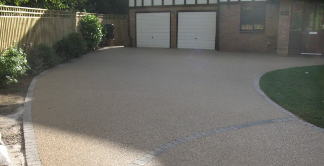 Resin Bound Driveway Surfacing in Alconbury Weston