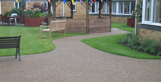 Resin Gravel Surface Specifications in Halton East