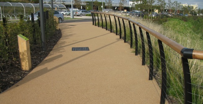 Gravel Surfacing Designs in Airthrey Castle