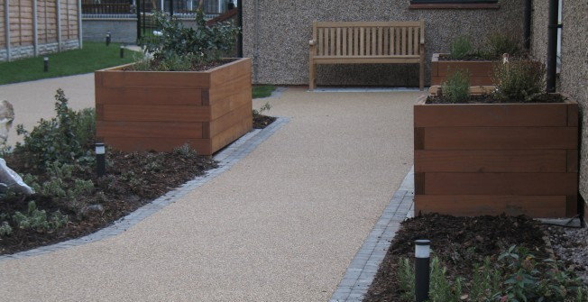 Gravel Walkway Flooring in Ansty