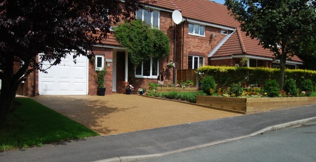 Stone Driveway Flooring in The Bourne