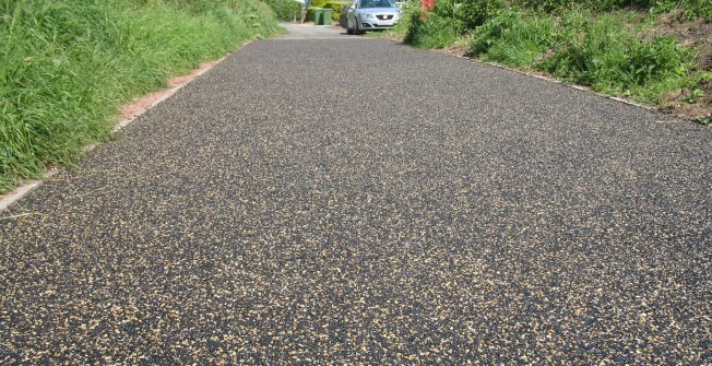 SuDS EcoPath Paving in Abdon